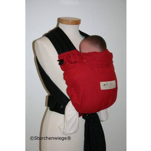 Storchenwiege BabyCarrier Rot