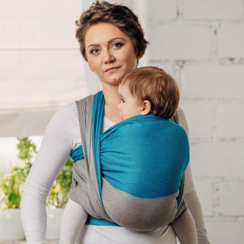 Moja pierwsza chusta donoszenia dzieci Sodalit bawełna