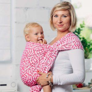 Moja druga chusta żakardowa donoszenia dzieci bawełna TURMALIN