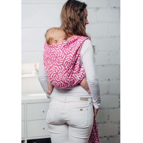 Moja druga chusta żakardowa do noszenia dzieci bawełna TURMALIN