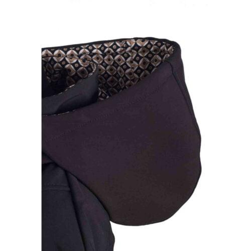 Greyse kurtka softshell dla dwojga CZARNY wzorek