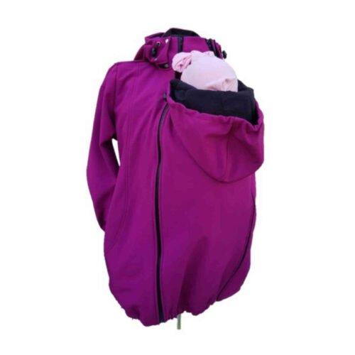 Greyse kurtka softshell dla dwojga fioletowa
