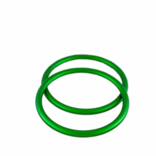 BebeLove zestaw kółek ALURING do chust jasny zielony r.L