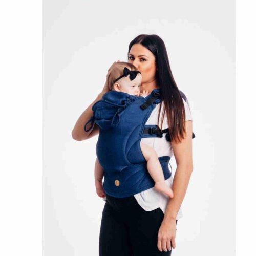 LennyLamb Moje Pierwsze Nosidełko Ergonomiczne LennyGo KOBALT Baby Size