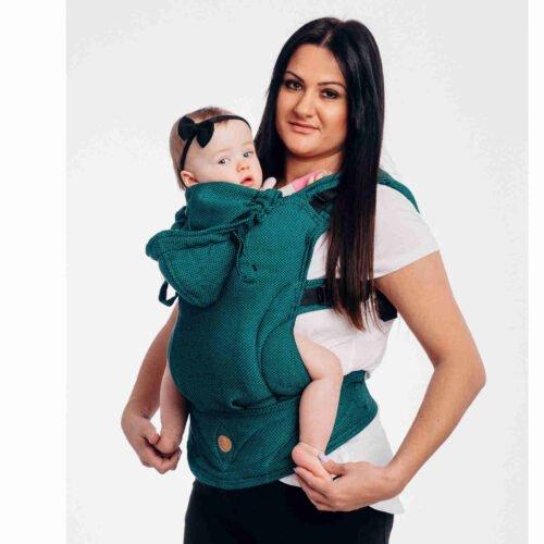 LennyLamb Moje Pierwsze Nosidełko Ergonomiczne LennyGo SZMARAGD toddler size