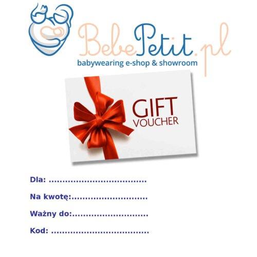 bebepetit gift voucher