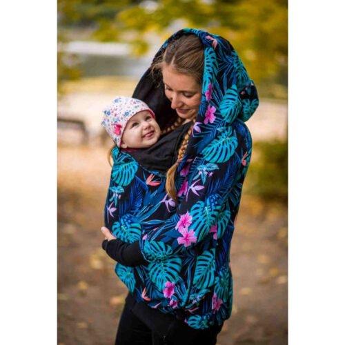 Greyse bluza do noszenia dzieci 5w1 MONSTERY