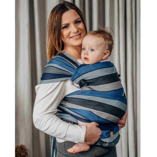 LennyLamb nosidełko dla małych dzieci LennyHybrid Half Buckle - WODOSPAD