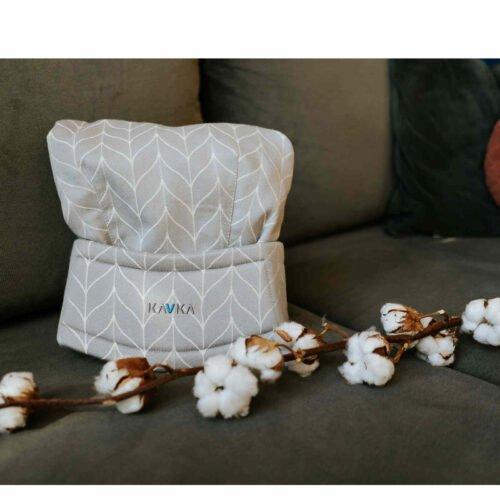 Kavka bawełniane nosidełko ergonomiczne regulowane Multi-Age MORNING POWDER BRAID