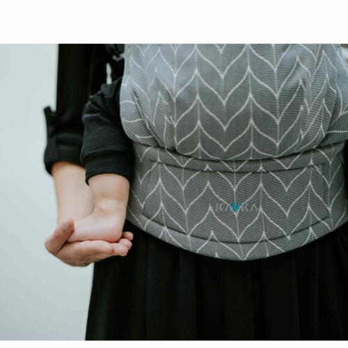 Kavka bawełniane nosidełko ergonomiczne regulowane Multi-Age DOVE BRAID